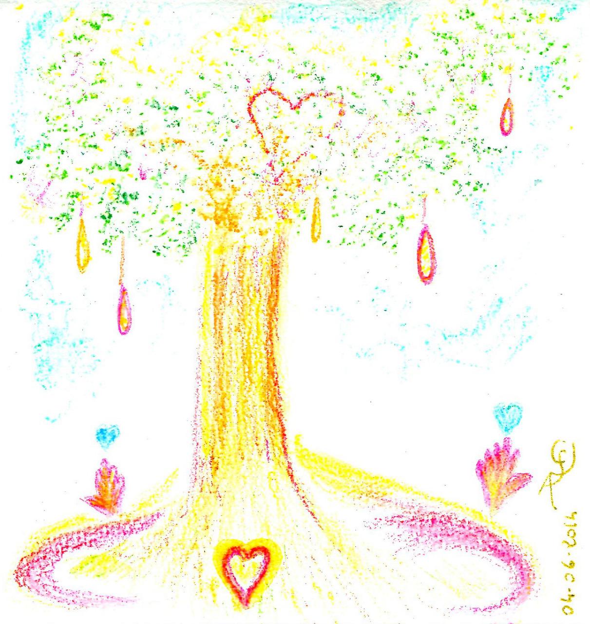 L'Arbre de Paix - Dessin de SL Christ