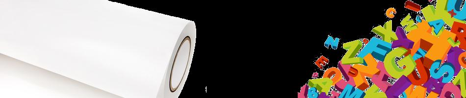 Foliendruck und Folienplott Buchstaben Schneideplotter