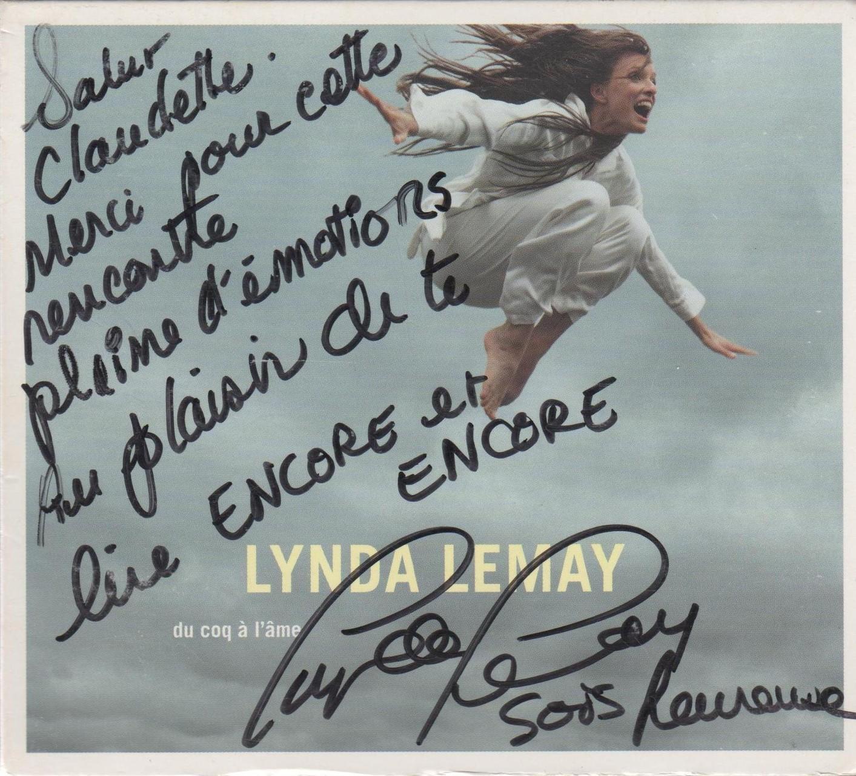 Rencontre avec Lynda Lemay