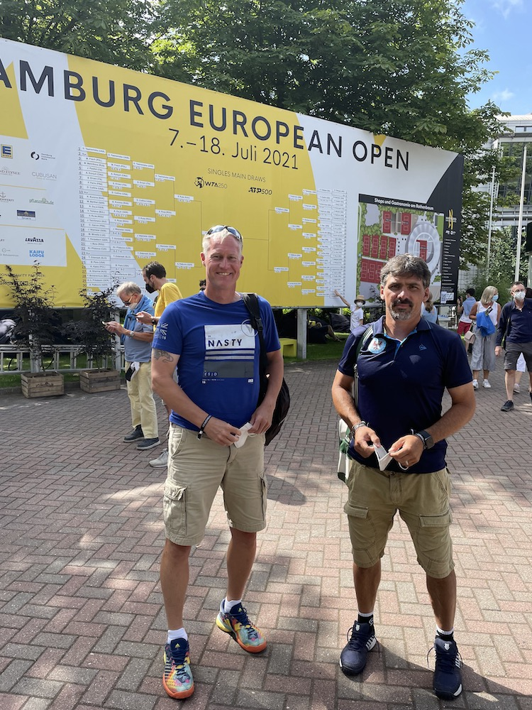 Wespen Coaches beim DTB Sommer Kongress in Hamburg