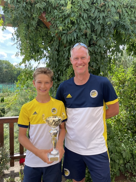 Erste Final-Entscheidungen beim 4. Wespen Junior-Cup