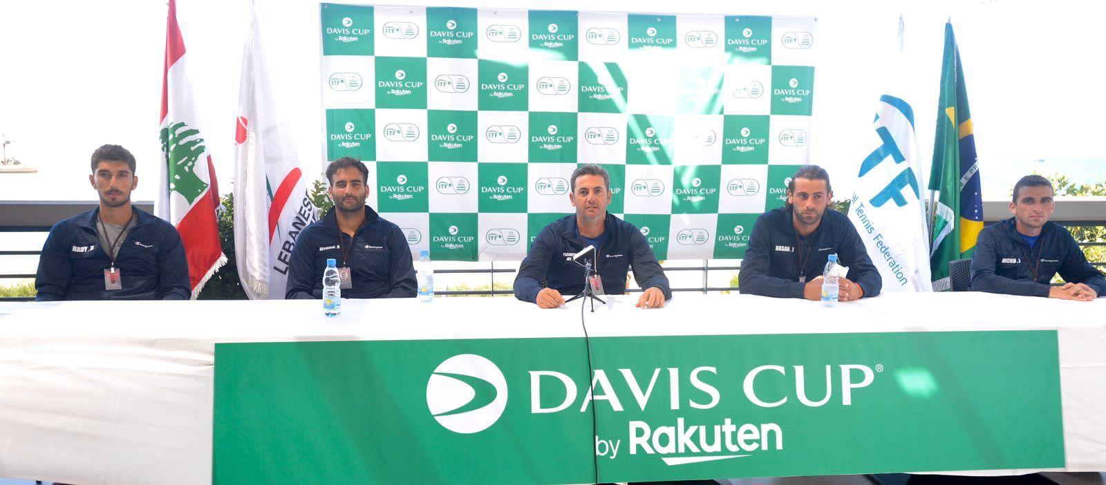 Hasan Ibrahim beim Davis Cup