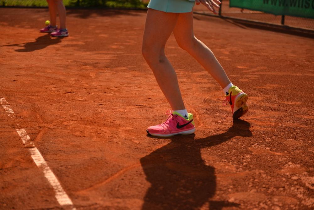 After-Work Tennis startet durch...