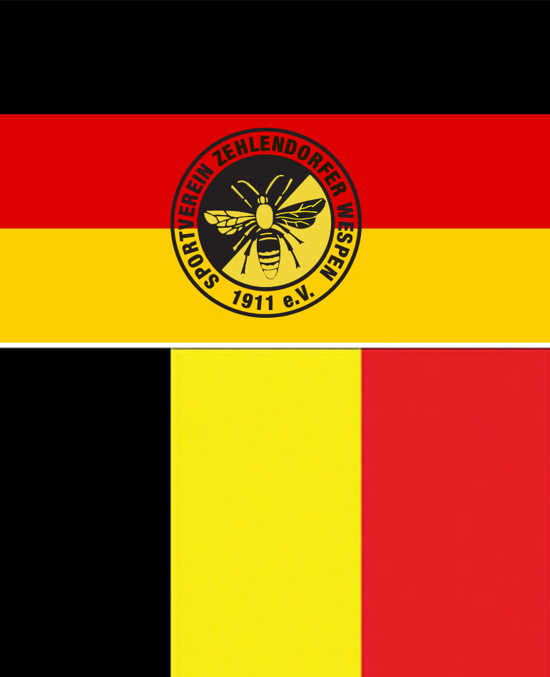 U16: 2 x Deutschland gegen Belgien, 7 Wespen dabei
