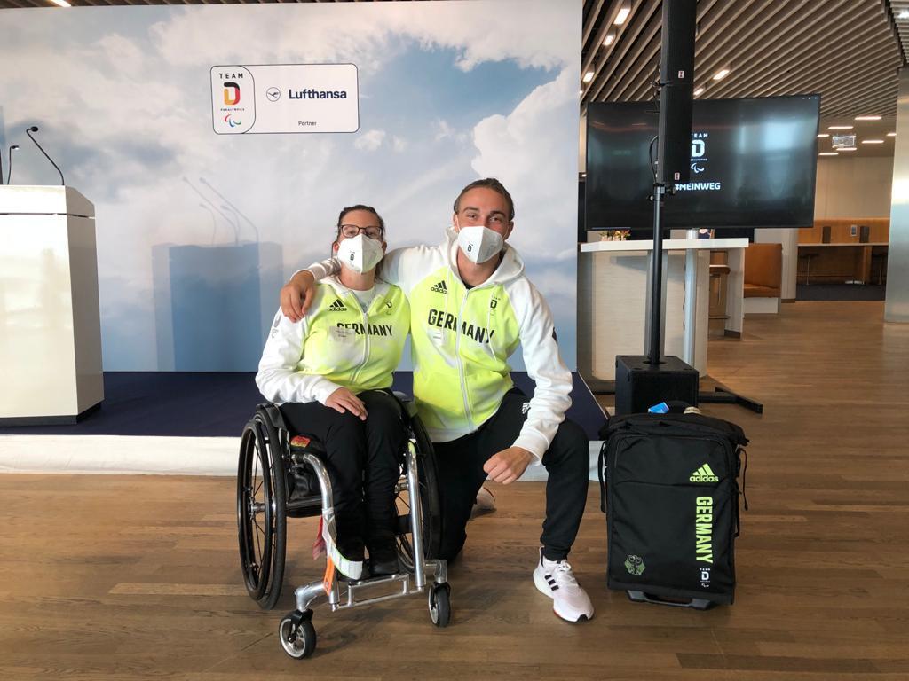 Katharina Krüger auf dem Weg nach Tokio