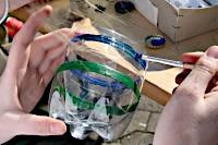 Kreativ Veranstaltung – Beleuchtete Flaschen