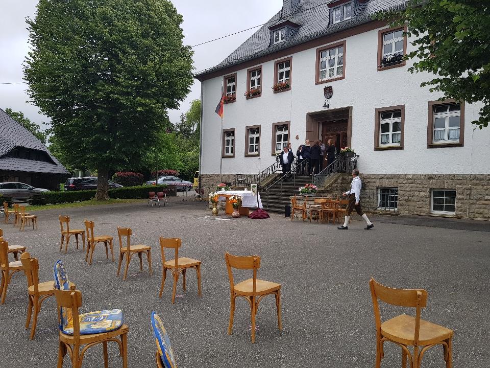 Kirmes Gottesdienst in Büdesheim 2020