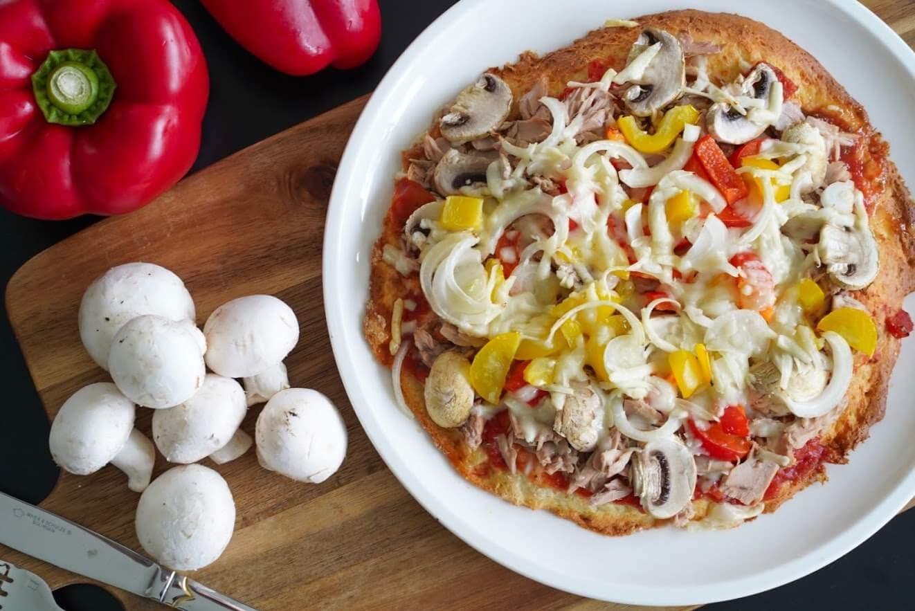 Dinkel-Quark-Pizzateig | clean und schnell zubereitet