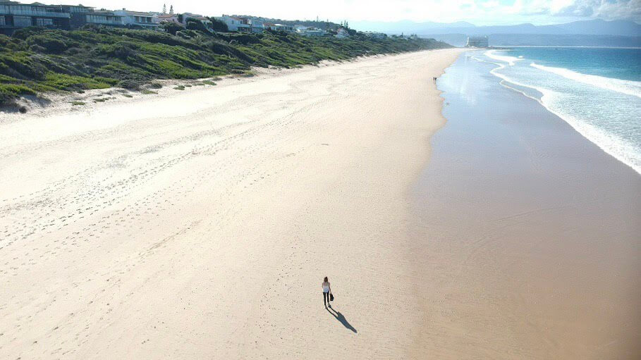 Strand in Plettenberg - Südafrika