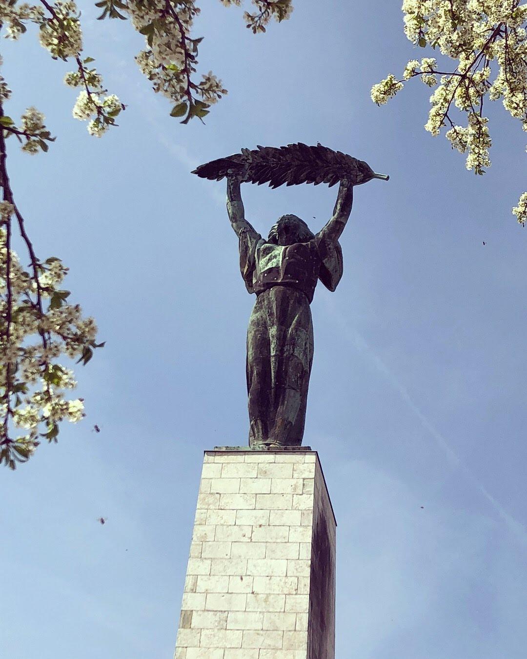 Citadella Statue auf dem Gellertberg in Budapest