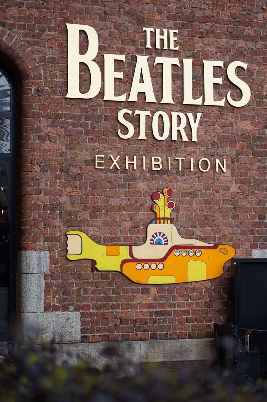 Beatles Museeum Liverpool