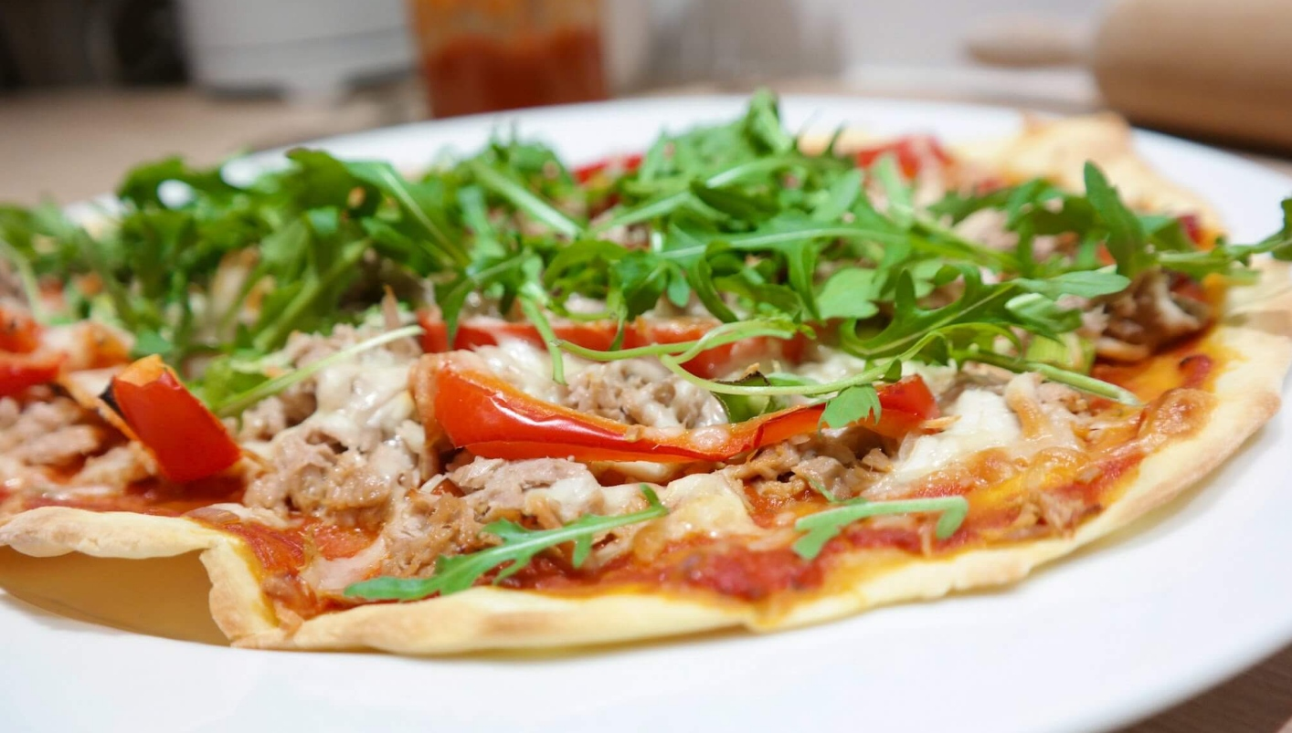 Selfmade Dinkel-Pizzateig | schnell gemacht