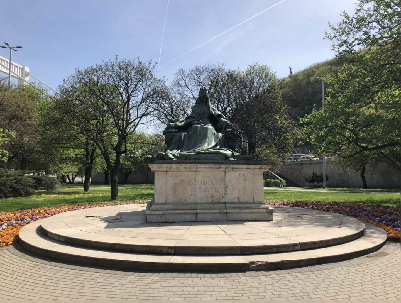 Sisi Gedenkstätte in Budapest