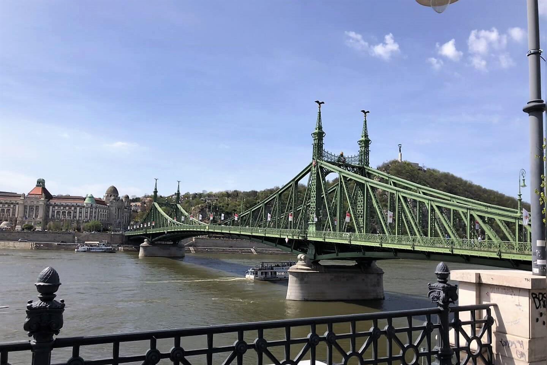 Freiheitsbrücke in Budapest