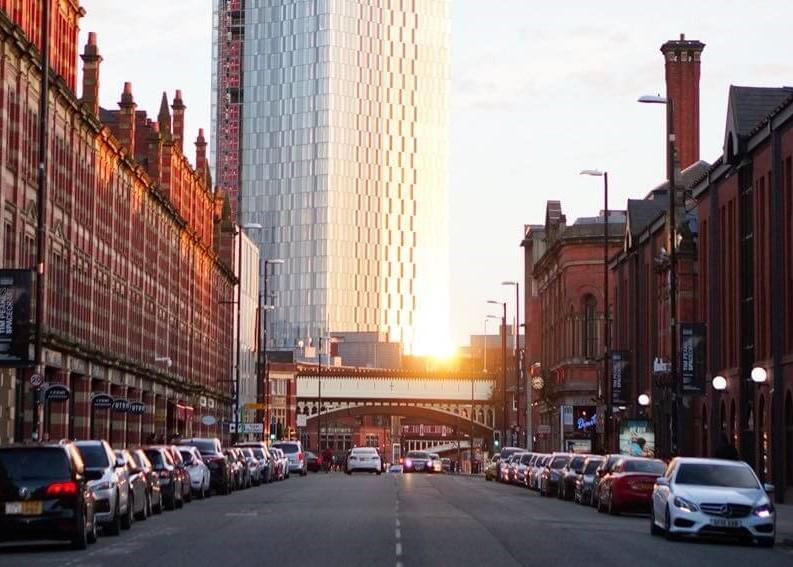 Manchester City - England bei Sonnenschein