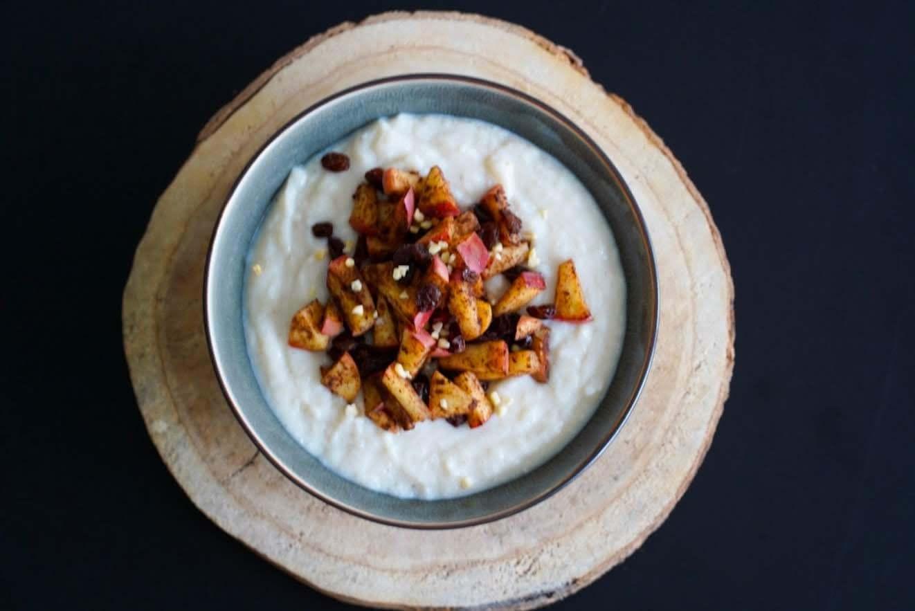 Blumenkohl-Milchreis | schnell gemacht, gesund & clean mit Vanille