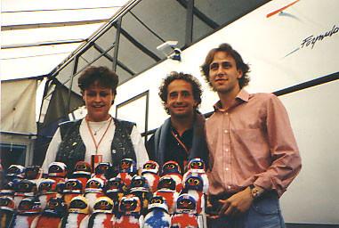 Pierluigi Martini + Luca Badoer
