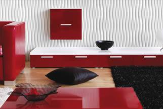 Akzentpaneele - Wohnzimmer Wandverkleidung