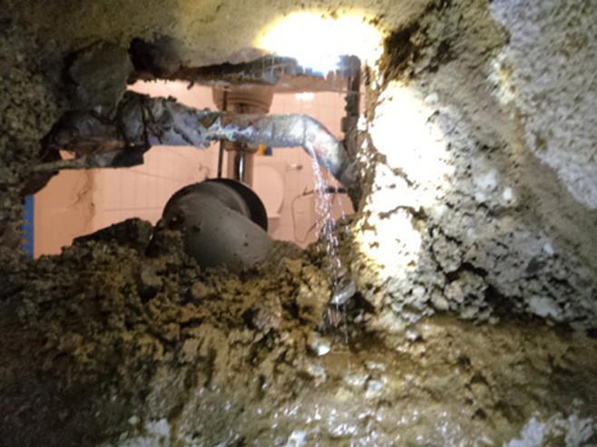 Leckortung Leckage Wasserleitung