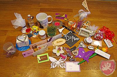 Tischdeko Hochzeit Give Away