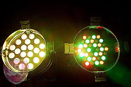 LED Par 64 Vergleich