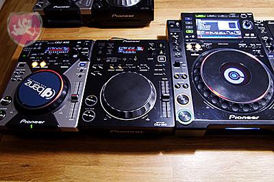 Pioneer CDJ 400, Pioneer CDJ 350, Pioneer CDJ 2000