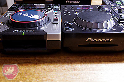 Pioneer CDJ 400 vs. CDJ 350