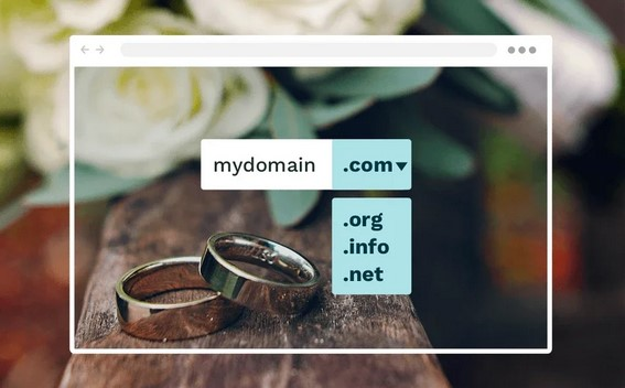 Homepage für Hochzeit