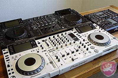 Pioneer CDJ2000 DJM900 weiss white