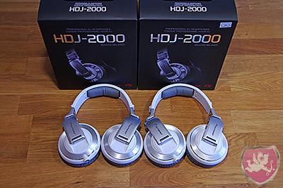 Pioneer HDJ-2000 weiss Kopfhörer