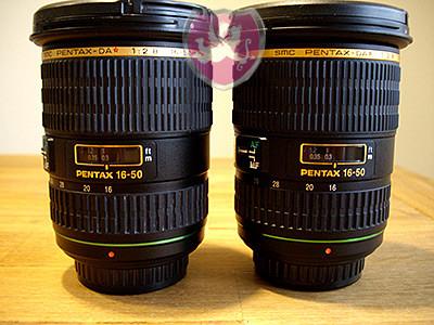 Pentax SMC 16-50mm