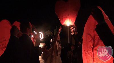 Himmelslaternen Hochzeit Brauch Sky Lanterns