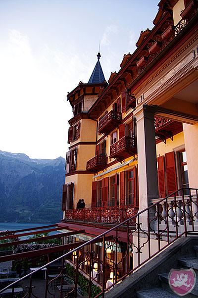 Grand Hotel Giessbach Brienz Hochzeit Heiraten DJ Benz