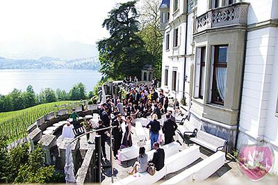 Hochzeit Heiraten Schloss Meggenhorn Meggen DJ