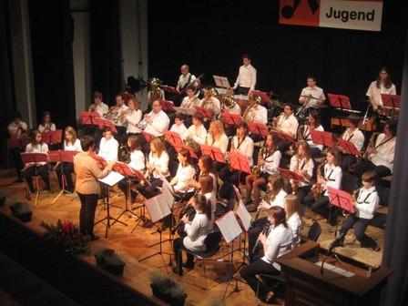 Jugendkapellenkonzert 2010, Leitung: Regina Hecker