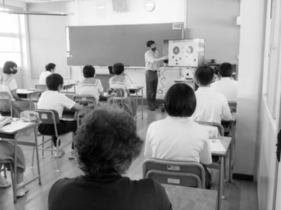 Lecture @大蔵中学校