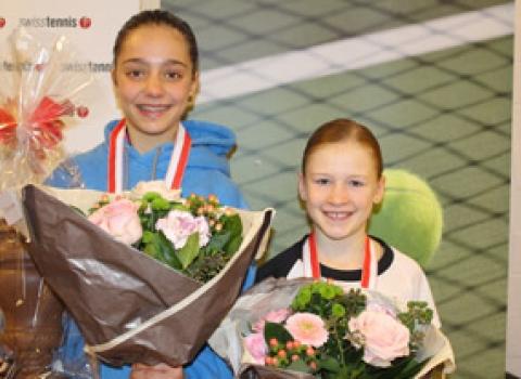 Januar 2016: Finalistin an den Junioren-Schweizermeisterschaften GS12, Winter in Kriens LU