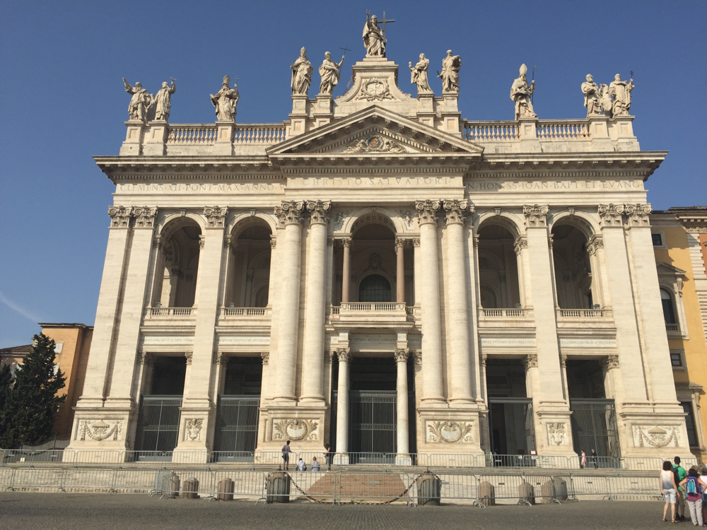 Kirche des Bischofs von Rom
