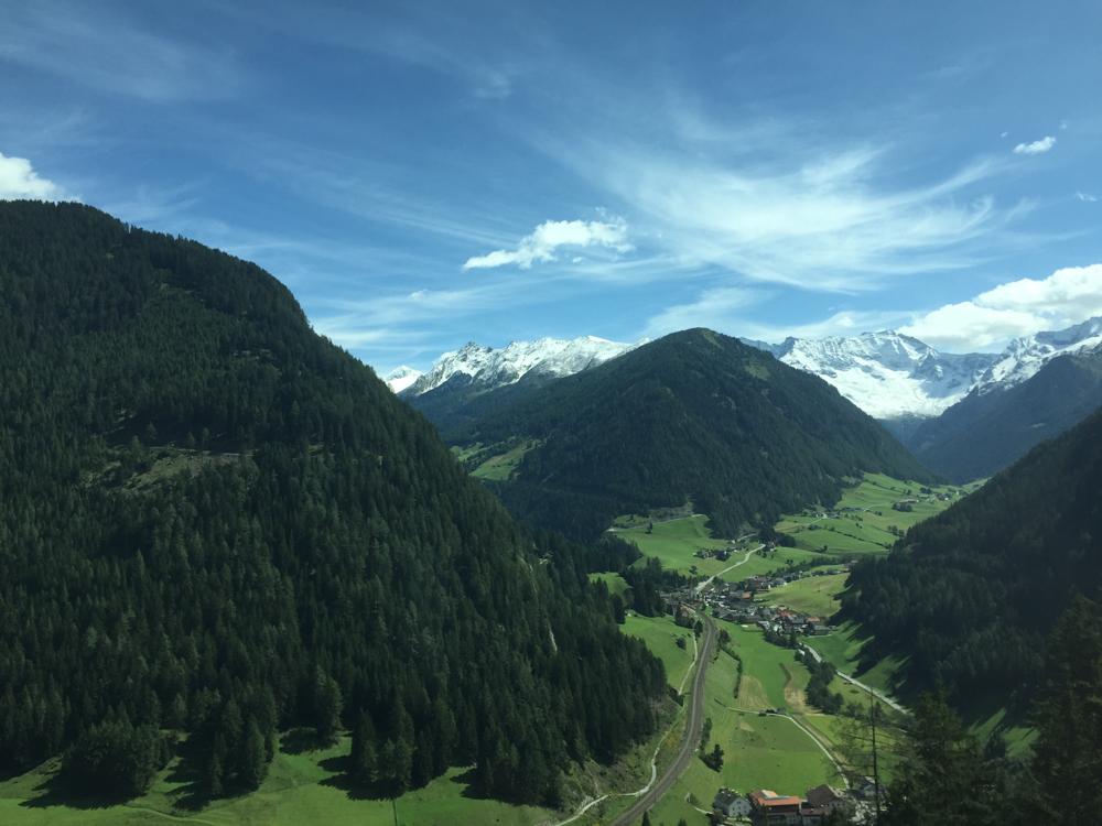 Durch die Berge zurück nach Hause