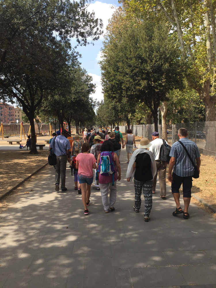 Zu Fuß durch Rom