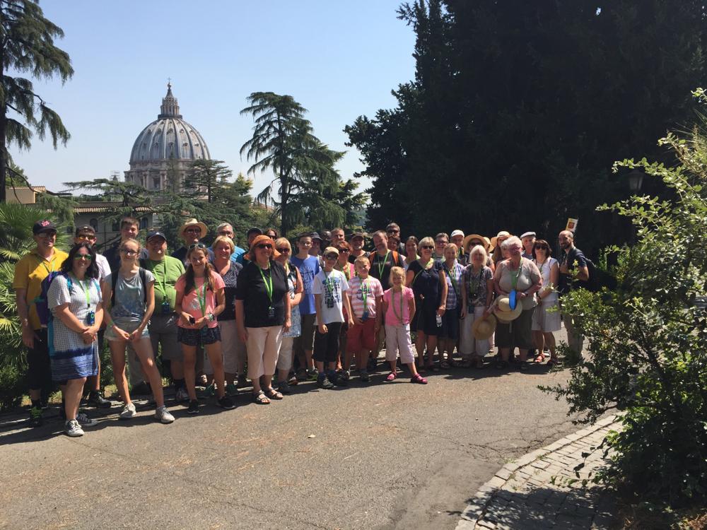 Unsere Rom-Wallfahrer