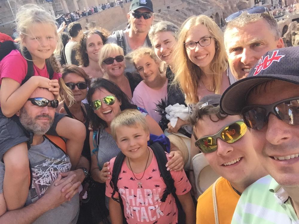 Grüße aus dem Colosseum