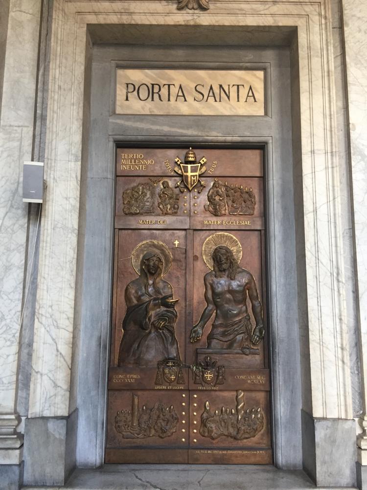 Heilige Pforte von St. Maria Maggiore