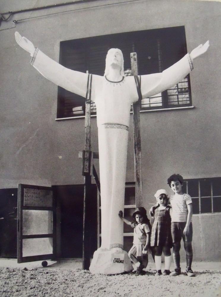 Cristo, destinazione Gualdo Tadino (PG) 1969