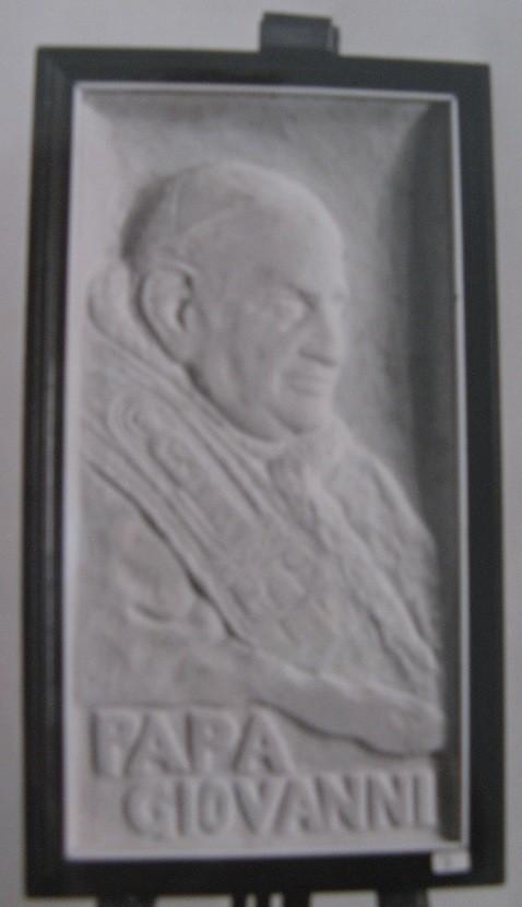Papa Giovanni XXiii, marmo