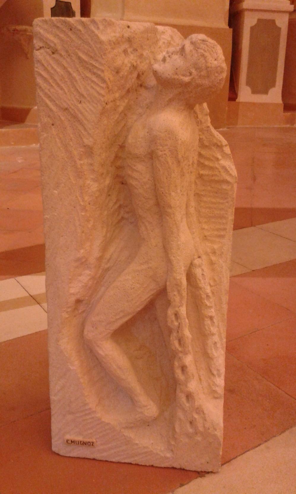 Anelito di libertà, cemento soffiato, 1999