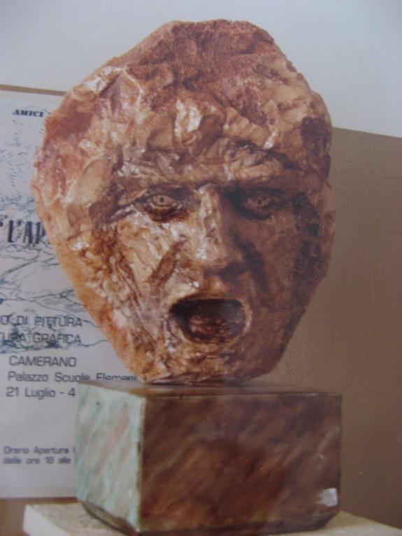 Il dannato, pietra del Conero