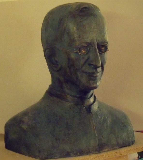 P.Leone Dehon, busto in bronzo, 2006