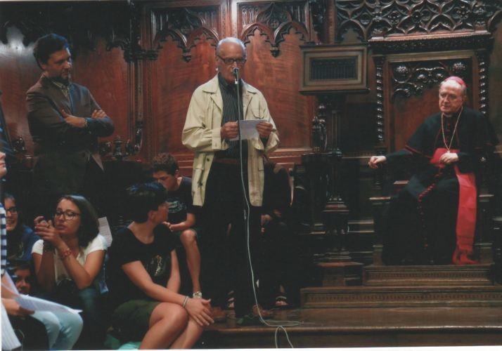 Edgardo presenta la sua opera