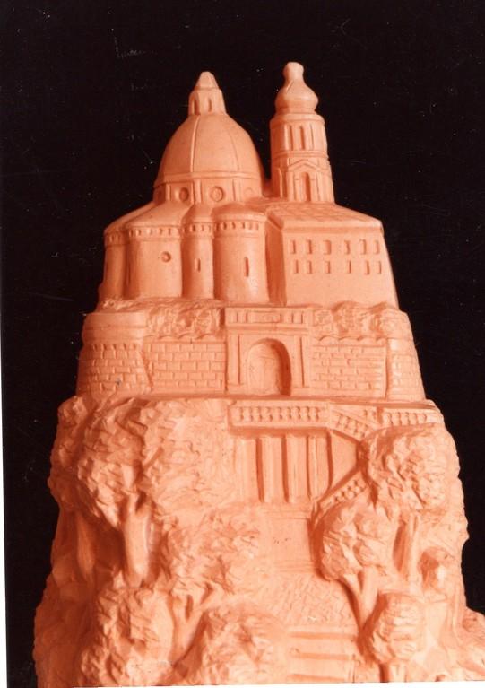 Particolare della scultura donata a Papa Giovanni Paolo II, 1985